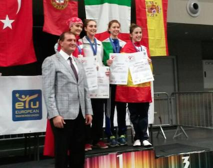 Licia bronzo europeo under 21