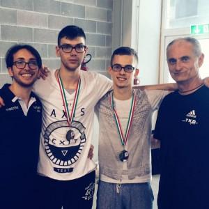 Antonio + Vlad+vlad+Moreno Riccione 2016-TaekwondoRegisBologna