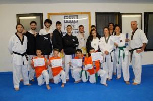 taekwondo regis 2016-esami